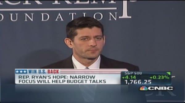 No tax increases: Rep Ryan