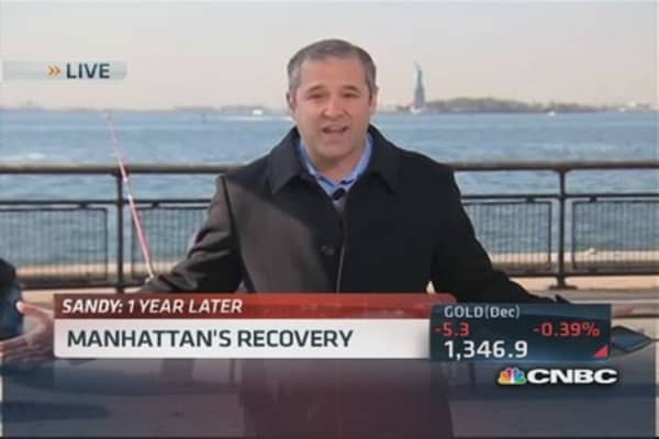 Superstorm Sandy: Manhattan's recovery