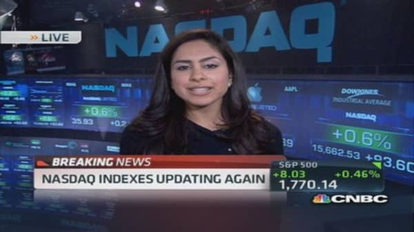 Nasdaq indexes updating again