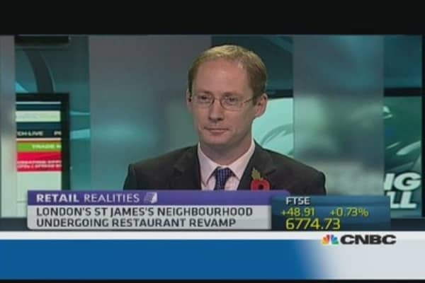 London's St. James area  to be revamped