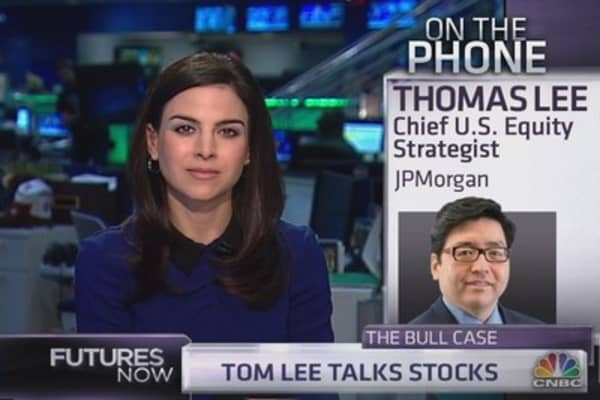 JPM¿s Tom Lee: Here's what can drive market much higher