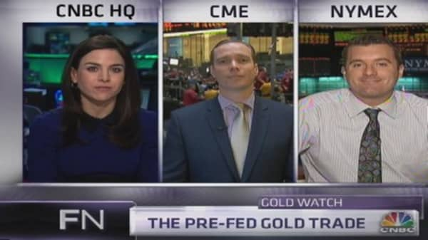 Will the Fed rock gold?