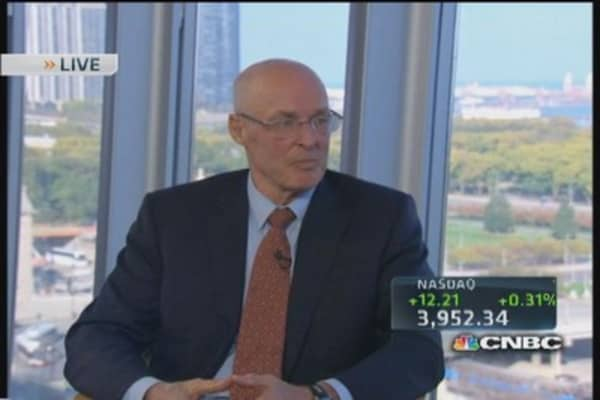 Hank Paulson: Dimon & the DOJ