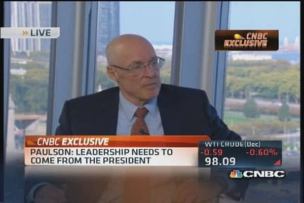 Banks safer, leverage down: Paulson