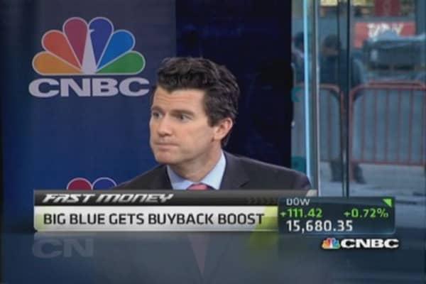 IBM increases buyback; Analyst warns