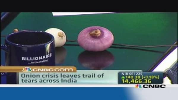 India's onion crisis