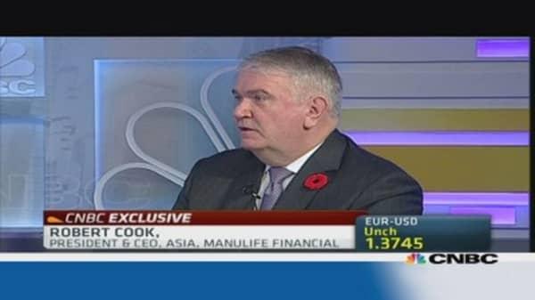 Manulife Financial: Asia prefers liquidity