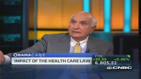 Langone to GOP: Let Obamacare happen