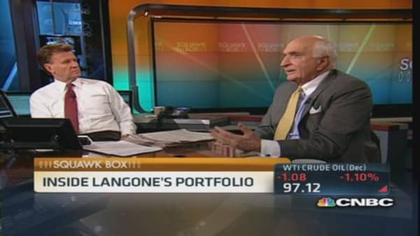 Langone's top stock picks includes energy stocks
