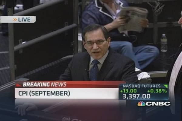 September CPI up 0.2%