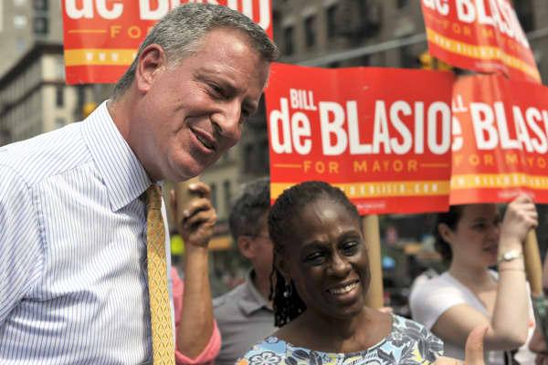 Bill de Blasio, New York City Mayoral candidate.