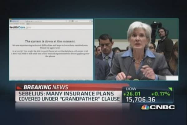 Sebelius: 'Hold me accountable'
