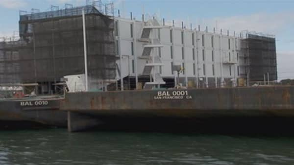 Mystery barge linked to Google
