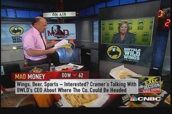Buffalo Wild Wings CEO: Customers liked wing portions