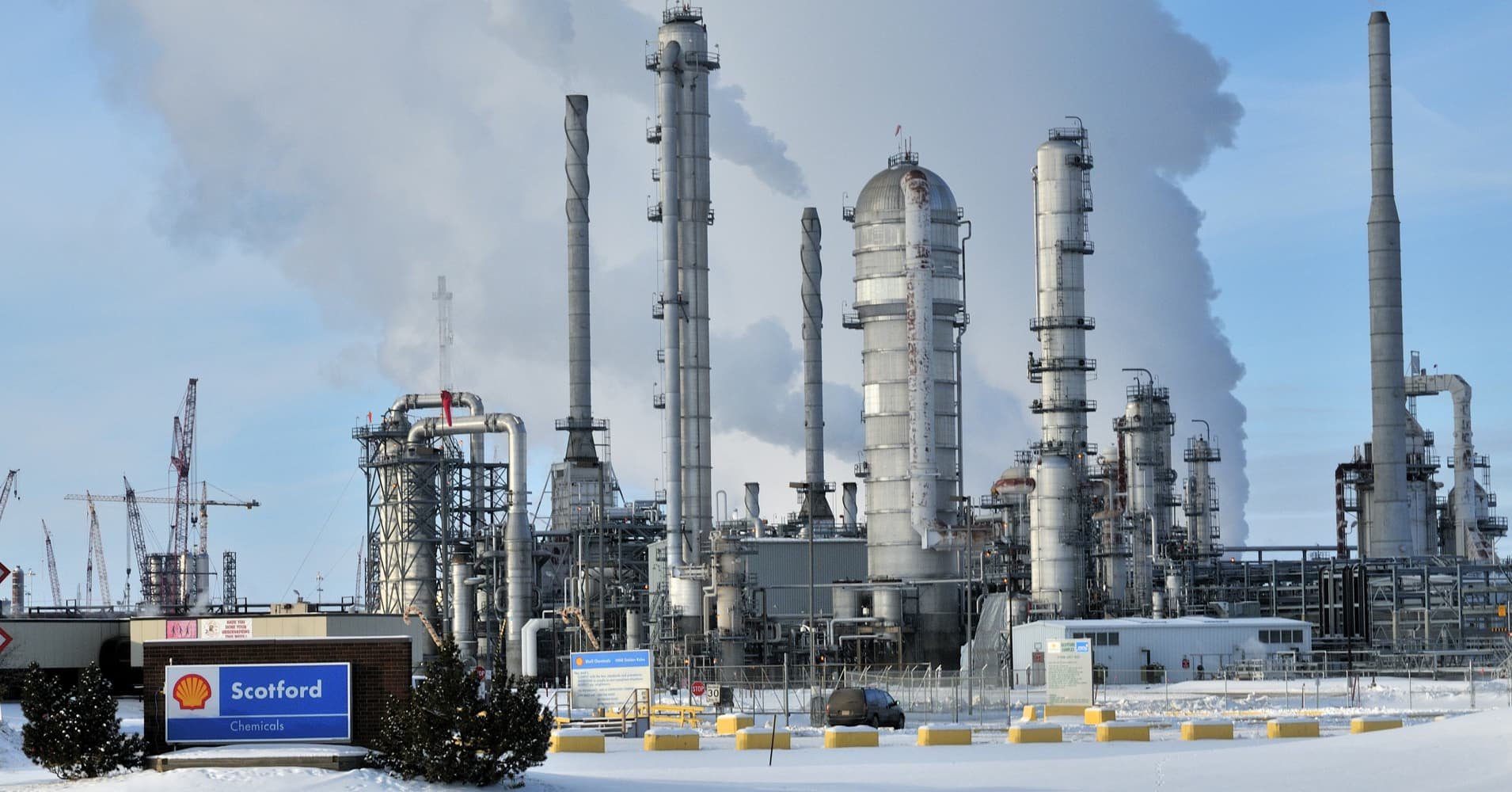 Shell hit by refining costs, Nigeria