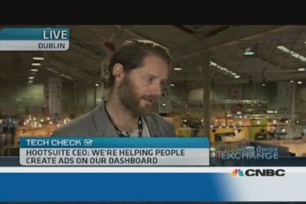 Hootsuite not in a rush for IPO: CEO