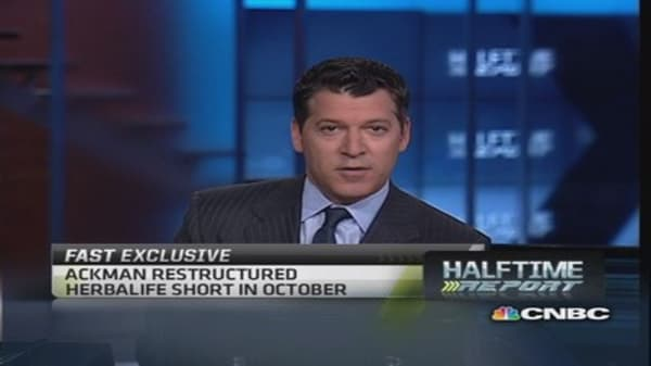 Ackman to take on Herbalife again