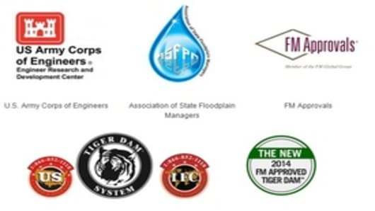 US Flood Control Corp. Logos