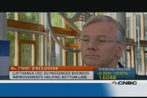 ECB musn't weaken euro: Lufthansa CEO