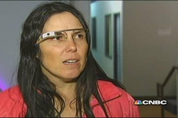 Wear Google glasses, get ticket