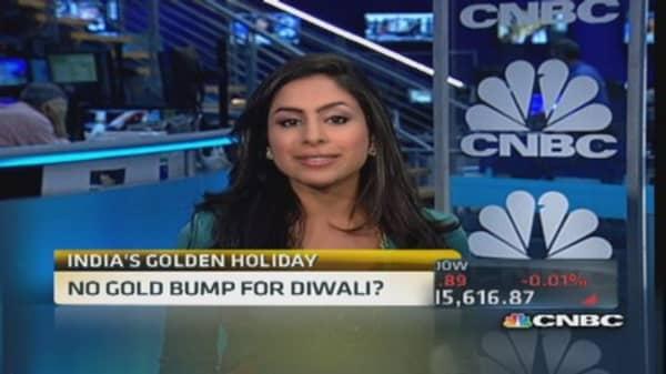 No gold bump for Diwali?