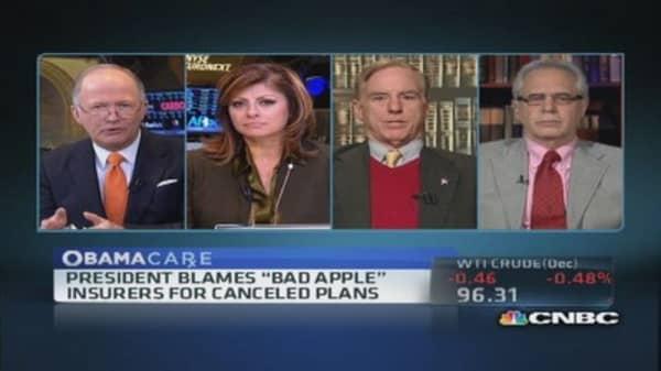 'Bad apple' insurers to blame?