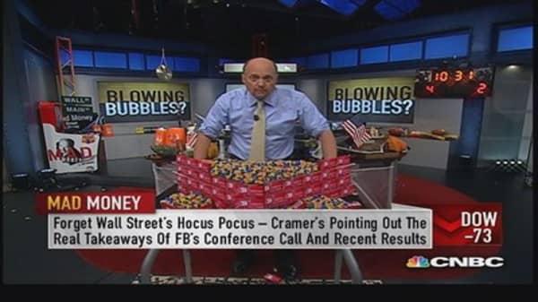 Cramer's strategy amid bubble talk