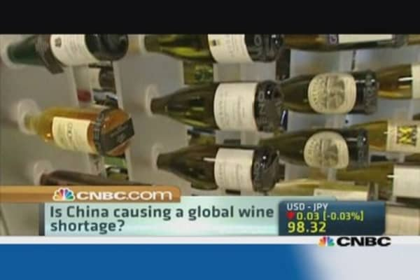 The world is running out of wine!