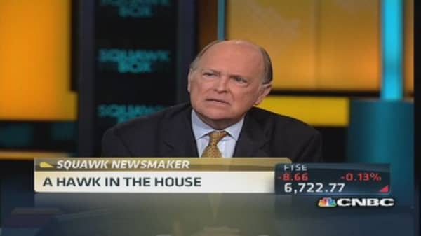 Plosser: Fed 'clearly missed an opportunity' to taper