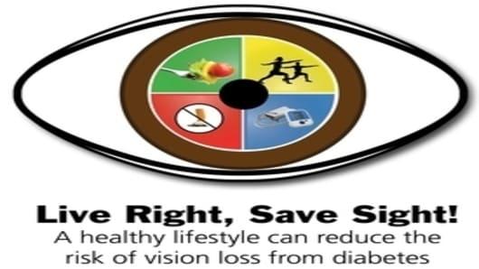 Live Right, Save Sight! logo