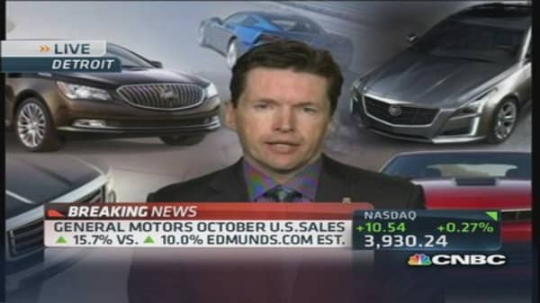 General Motors VP: We are going remain disciplined