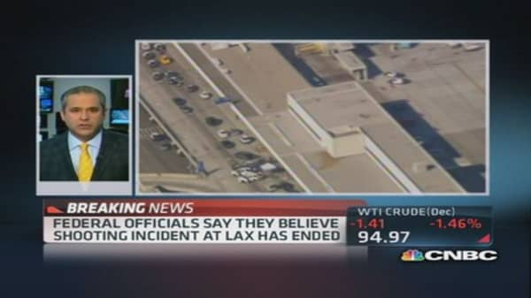 LAX shooting: Gunman opens fire