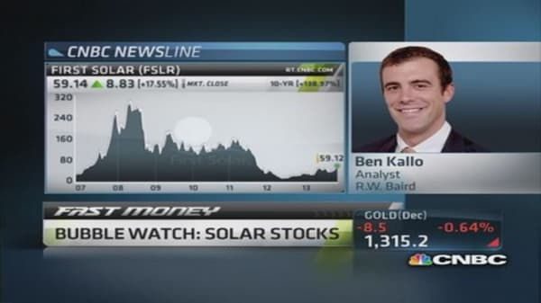 Pros highlight top solar-power plays