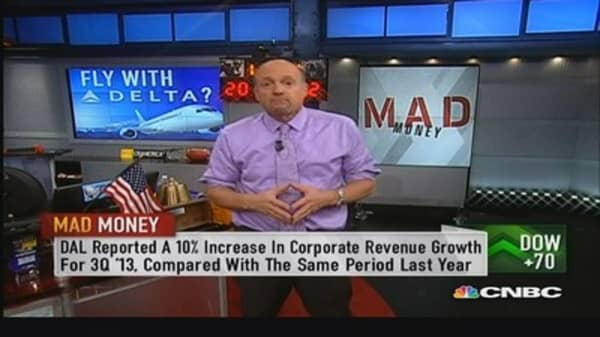 Delta is the one to own: Cramer