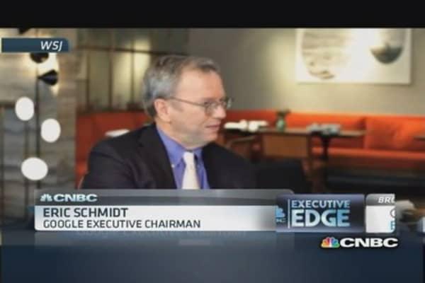 Google's Schmidt blasts NSA