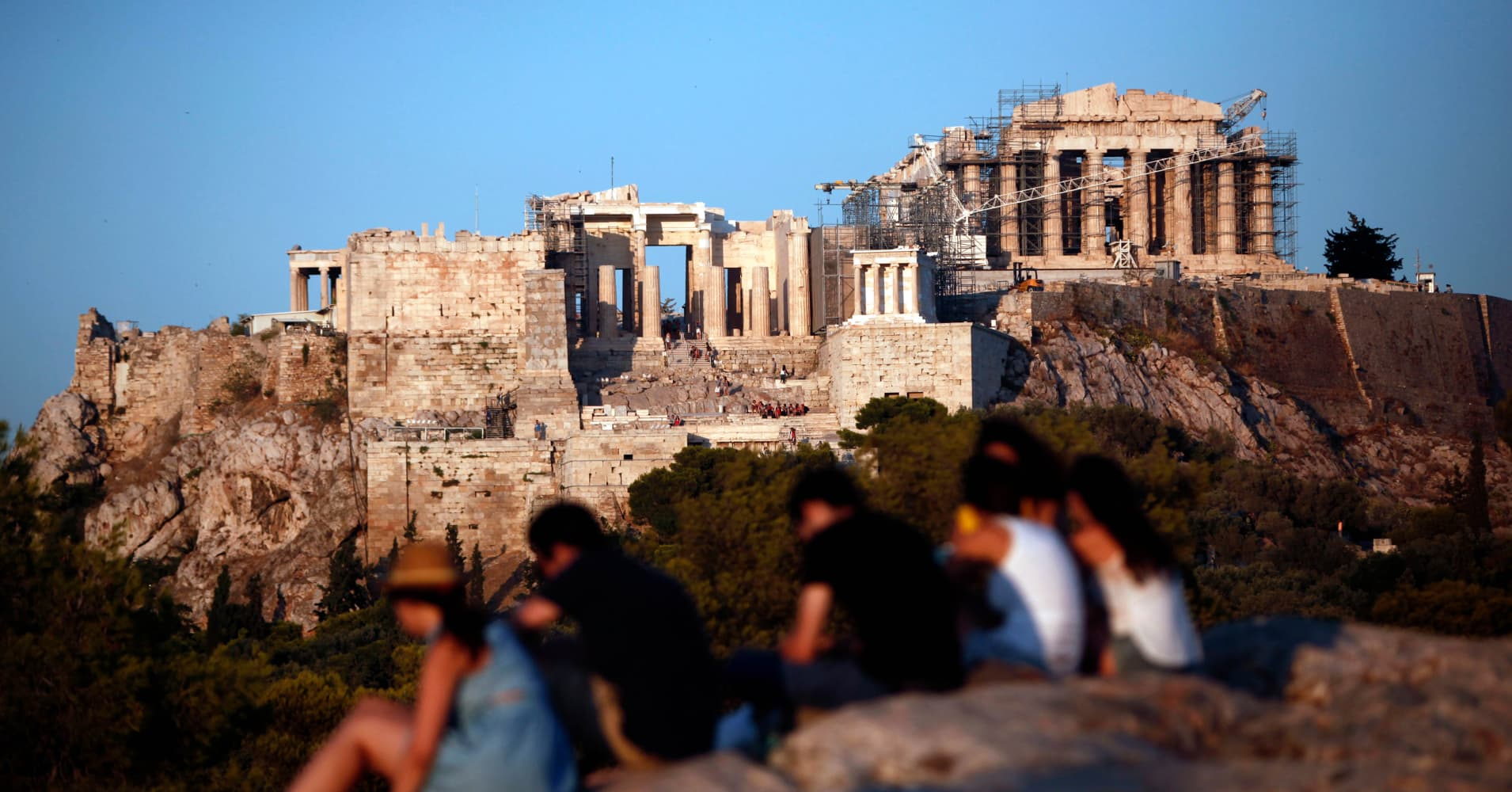 Greece is 'now among the top performers in the euro zone,' IMF says