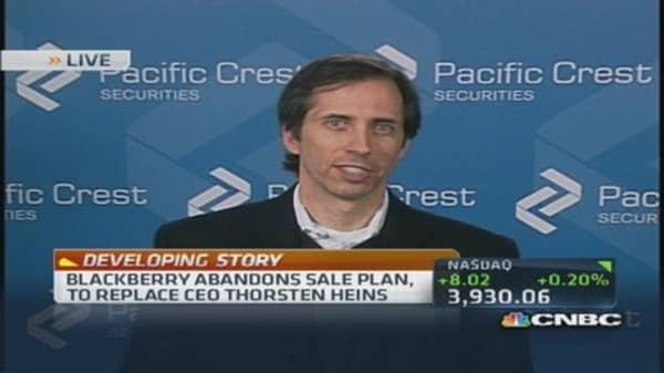 BlackBerry abandons sale plan