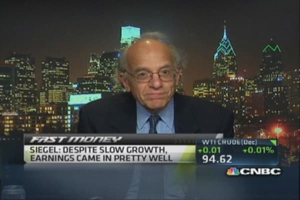 Jeremy Siegel sticks to bullish Dow target