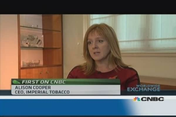 Imperial Tobacco's focus on quality of growth