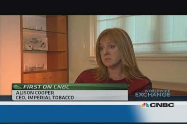 Imperial Tobacco working on e-cigarettes: CEO