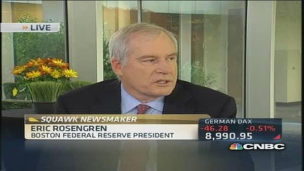 Fed's Rosengren: We need sustainable growth