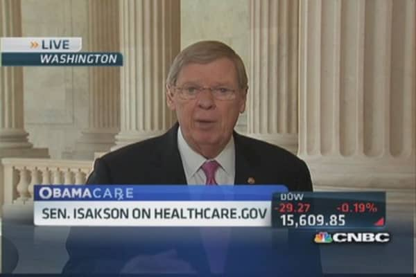 Sen. Isakson: Long way to go on Obamacare