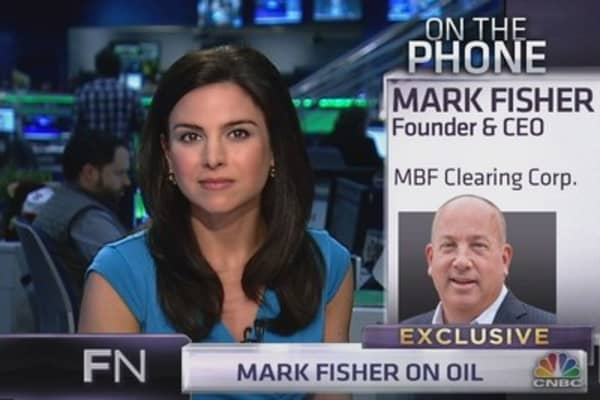 Mark Fisher: Why I'm looking to buy oil