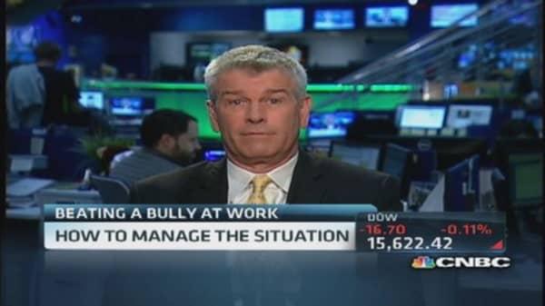 Beating a bully at work