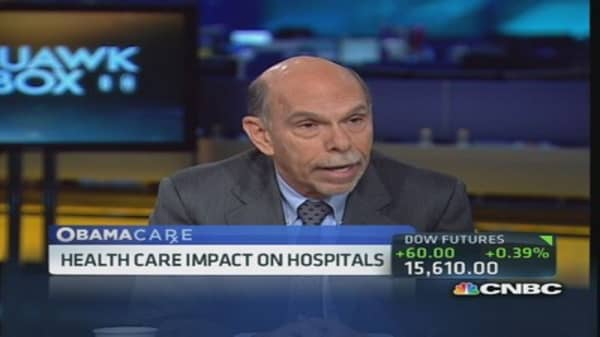Hospitals insurance companies of the future: Mt. Sinai CEO