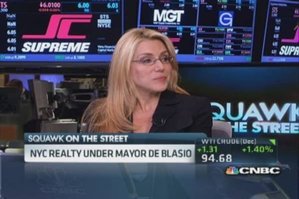 Real estate reality under Mayor De Blasio