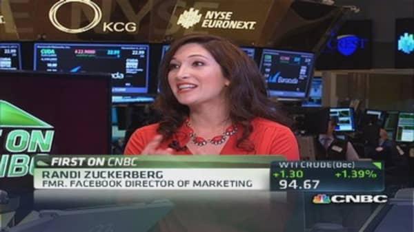 Twitter & video engagement: Randi Zuckerberg