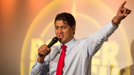 Raj Mahal hopes to be Wall Street's funniest comedian.