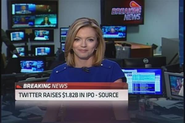 Twitter prices IPO at $26: Source