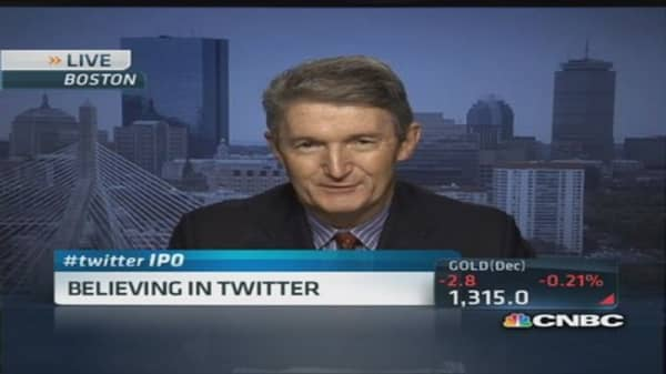 Twitter's had meteoric growth: Tech CEO